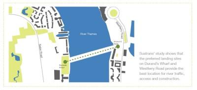 Potential bridge location